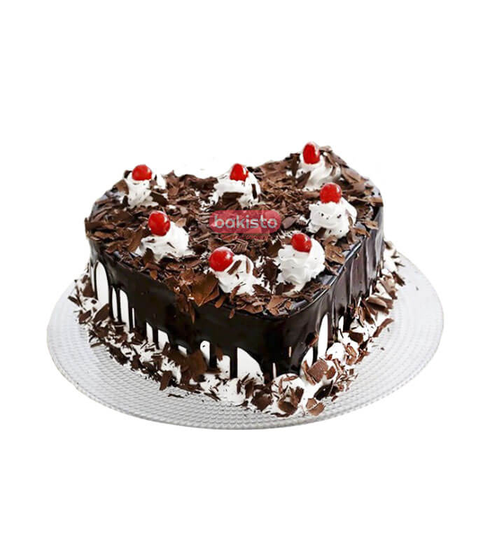 chocolate with black forest cake