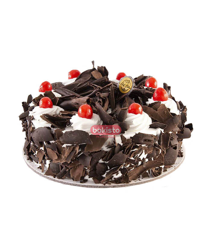 black forest with white cream