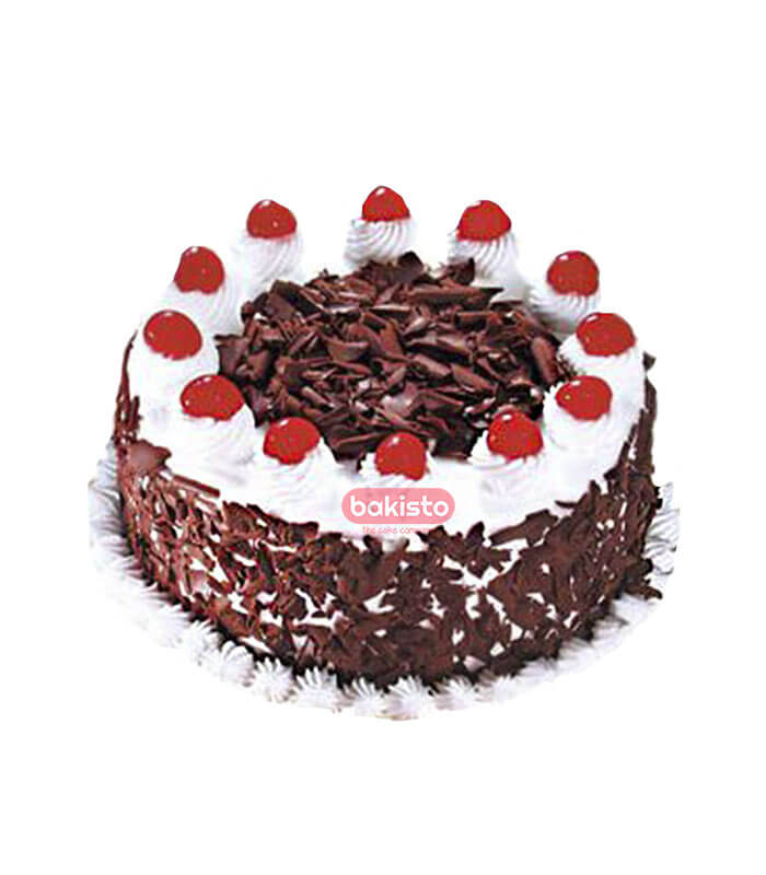 black forest with cherry