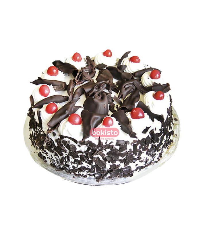 flower chocolate cake