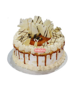 Caramel Cake with White Chocolate