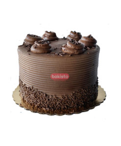 Chocolate Fudge Lining Cake
