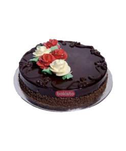 Flower Cake With DairyMilk