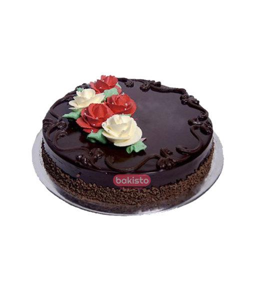 Flower Cake With DairyMilk