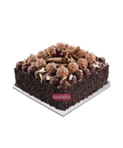 Square Ferrero Rocher Cake