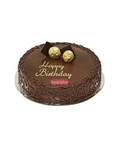 Two Ferrero Rocher Cake