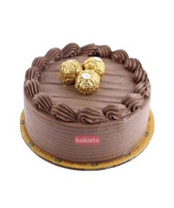 Three Ferrero Rocher Cake