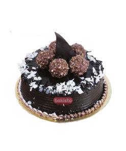 Ferrero Rocher With Fudge