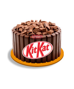 Kitkat cake with chocolate