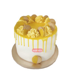 Pineapple With Biscuit Cake