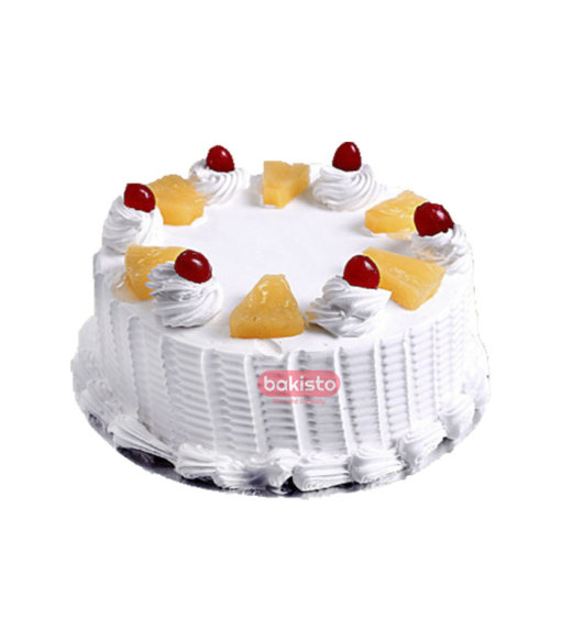 Pineapple With Cherry Cake