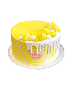 Yellow Pineapple Cake