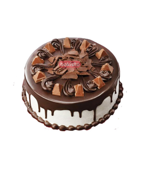 White Toblerone Cake