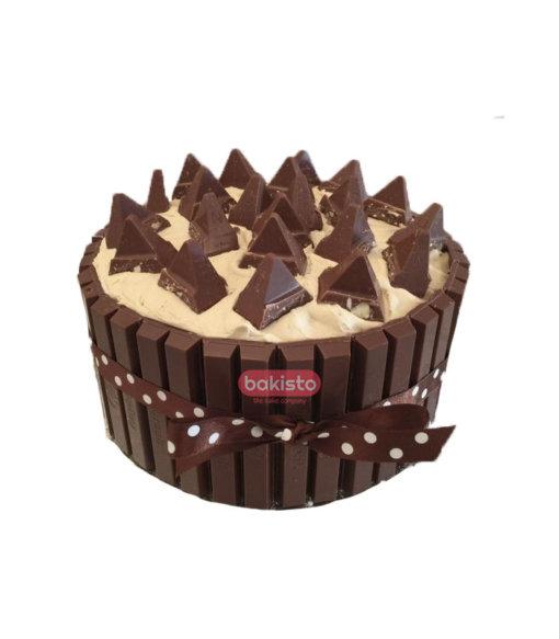 Toblerone With KitKat Cake