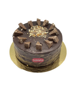 Toblerone With Fudge Cake