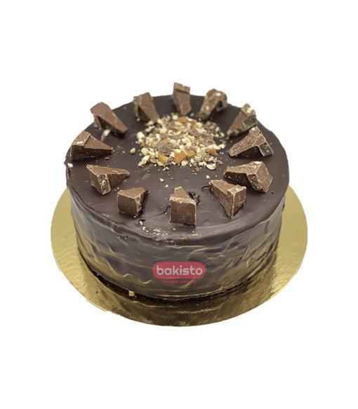 Toblerone With Fudge Cake