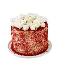 Red Velvet With Cheese Cake