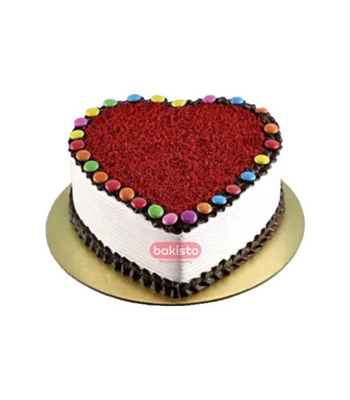 Red Velvet With Bunty Cake