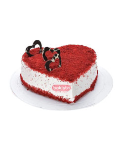 Heart Red Velvet Cake