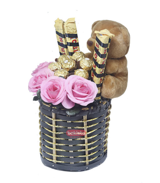 Pink Basket for her