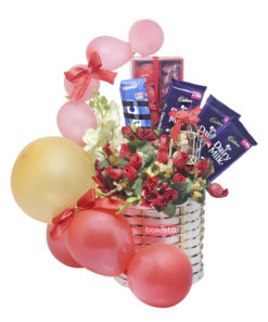 Red Basket for him