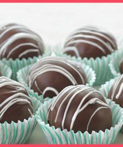 Chocolate Balls by bakisto.pk