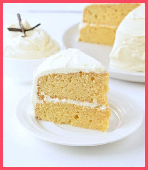 Vanilla Pastry by bakisto.pk