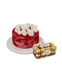 Red Velvet Cake and chocolate delivery in Lahore