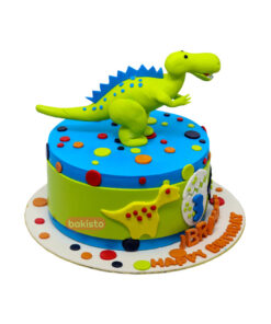 Dinosaur Cake by bakisto