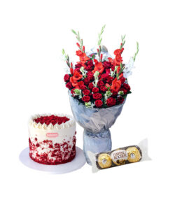 cake and flower, chocolate delivery in lahore
