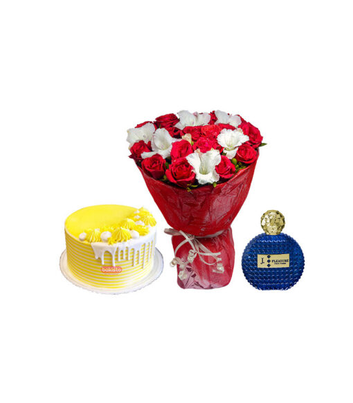 Cake Flower and perfume delivery in lahore
