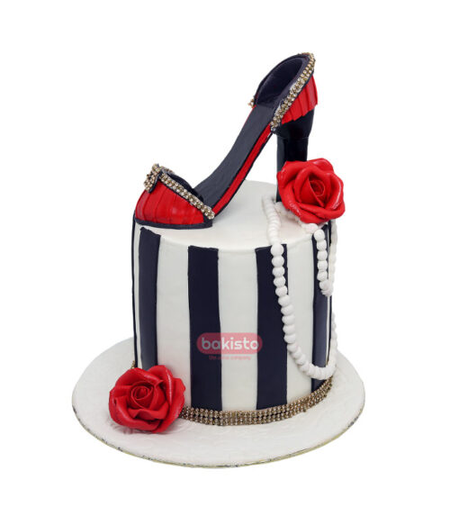 Cake With Sandle