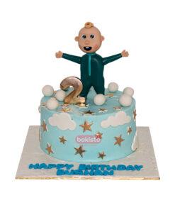 Coco Melon Single Character Cake