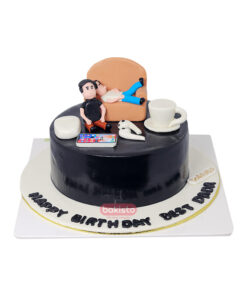 Father's Birthday Cake With Cup