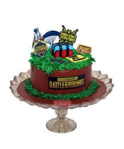 Pubg Chocolate Cake