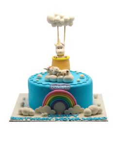 Clouds With Teddy Cake