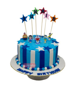 Doraemon Character Cake