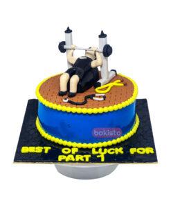 Gym And Medical Cake