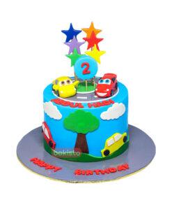 Handmade Car Cake