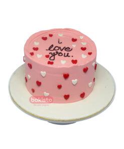 I Love You Heart Cake