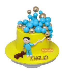 Yellow Kids Cake